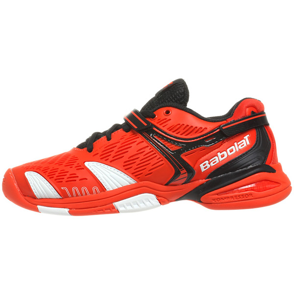 Babolat Propulse 4 Junior Tennis Shoes Orange Black The