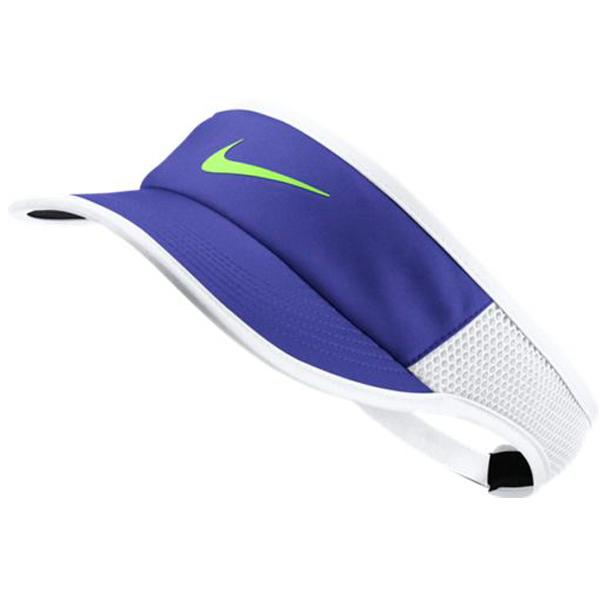 Nike Women s Aerobill Featerlight Visor Paramount Blue 899656-452 ... 103976873