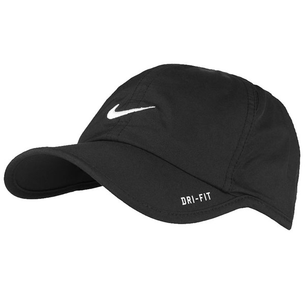 dff19b9a819 Nike Kid s Feather Light Cap Black 209449-012 - The Tennis Shop