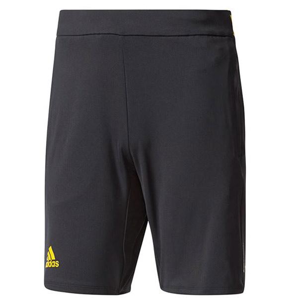 adidas Men's Barricade Short BlackEQT Yellow BP5213