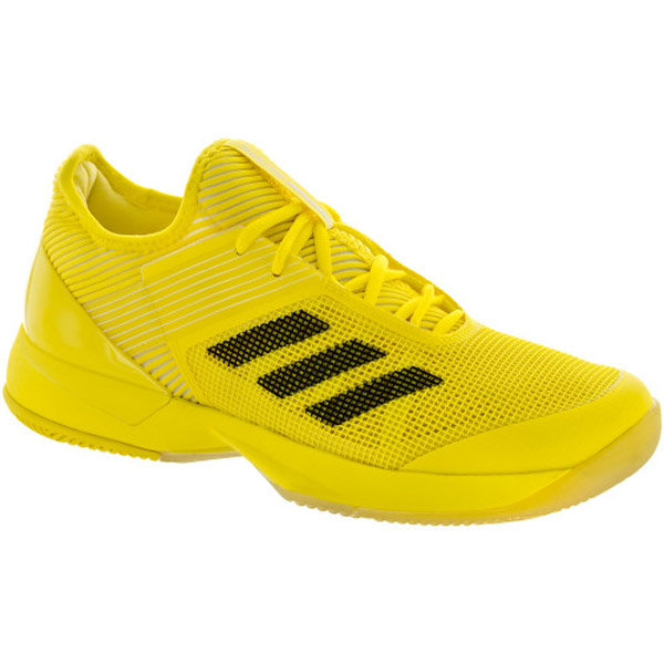 adidas ubersonic 3 s tennis shoe bright yellow