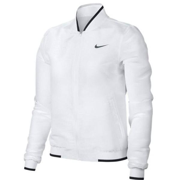 7a00df4296f2 Nike Women s Maria Court Jacket White 854914-100 - The Tennis Shop