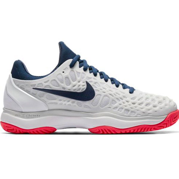 nike zoom cage 3 s tennis shoe white binary blue