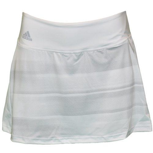 a24635db9d4027 adidas Women s Advantage Trend 13 Inch Skirt Skirt White BQ4870