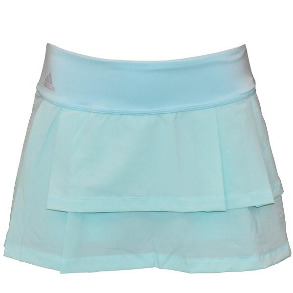 6e137f89f1 adidas Women's Advantage Layered Skirt Energy Aqua BR6845 - The ...