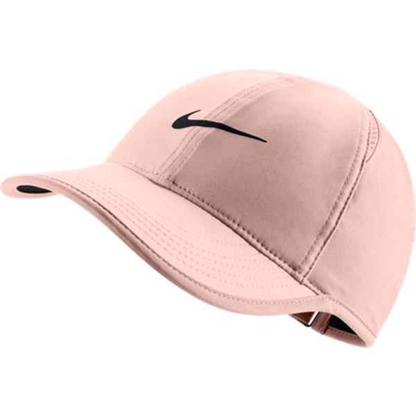 9916b38f2fe Nike Women s Featherlight Hat Crimson Tint 679424-814 - The Tennis Shop