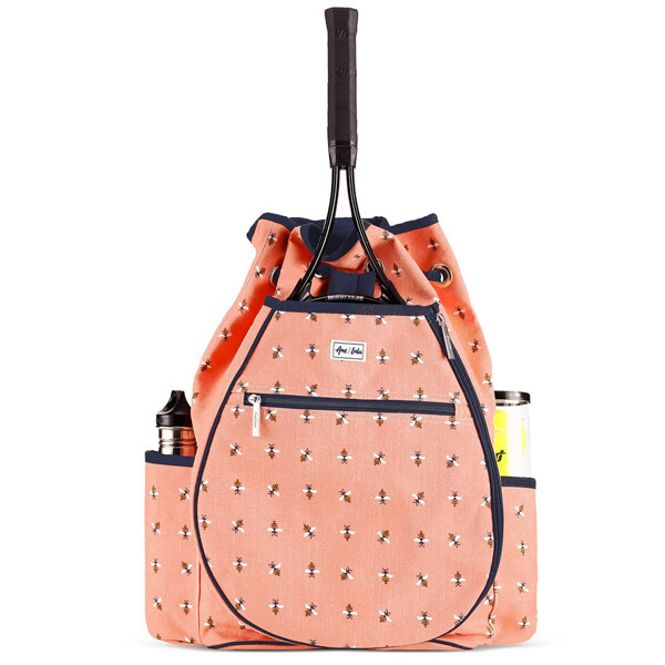 Ame And Lulu Bees Knees Kingsley Tennis Backpack