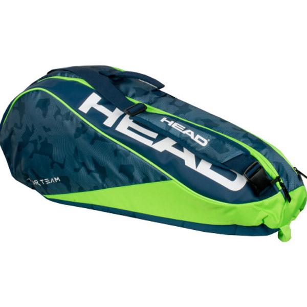 Head Tour Team 6 Combi Tennis Bag 2018 Navy Green 283128