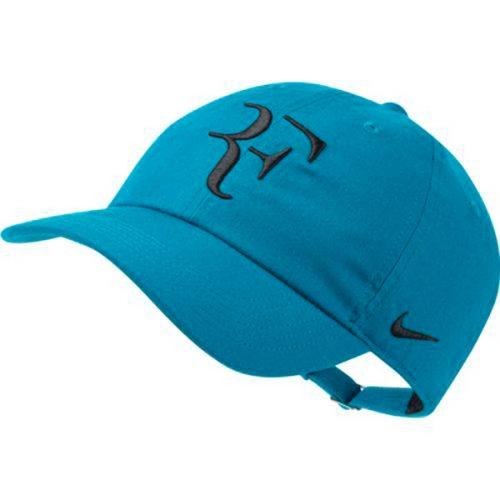 f9be3370 Nike Court Aerobill H86 RF Tennis Hat Neo Turquoise/Black AH6985-430