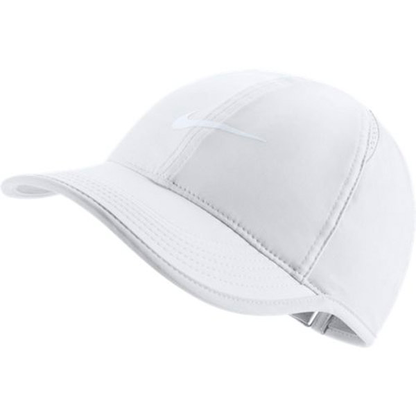 Nike Women s Feather Light Hat White 679424-103 - The Tennis Shop a9acc698ff23