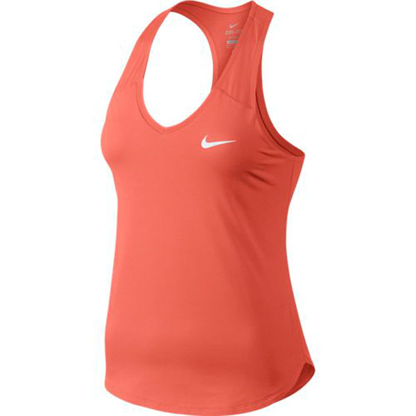 Perjudicial Trascender Unirse  Nike Women's Pure Tank Light Wild Mango 728739-680 - The Tennis Shop
