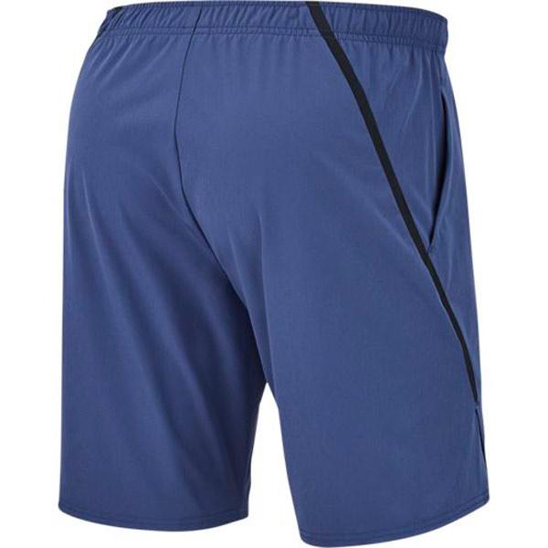 newest collection d6cc9 9cec5 Nike Men s Court Flex Ace 9 Inch Short Blue Recall Black 887515-498