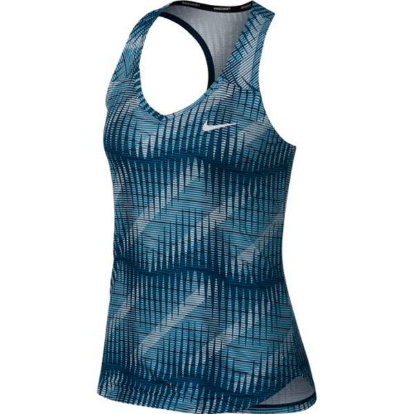 Anfibio Perseo Devastar  Nike Women's Court Pure Tank Blue Force 888168-474 - The Tennis Shop