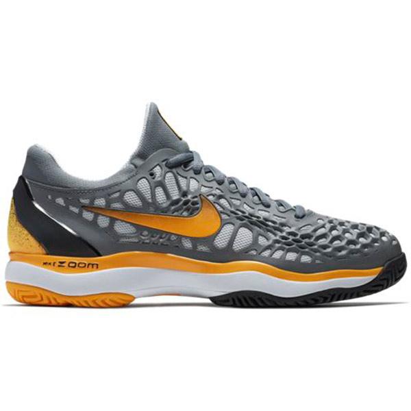 f5940838221 Nike Zoom Cage 3 Men s Tennis Shoe Cool Grey Laser Orange 918193-003. Sale!    