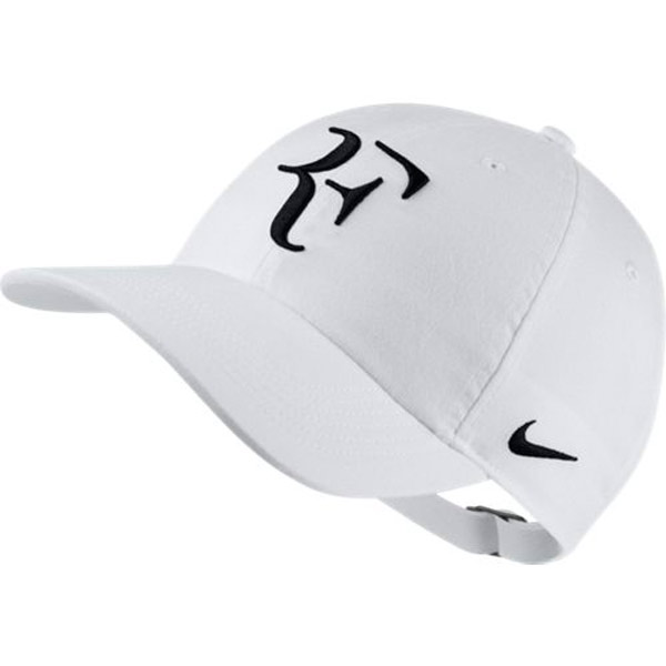 3dee0c42cf31c Nike Court Aerobill H86 RF Hat White AH6985-100 - The Tennis Shop