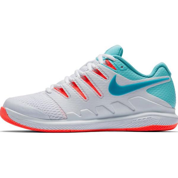 05f44caca26 Nike Air Zoom Vapor X Women s Tennis Shoe White Neo Turquoise AA8027 ...