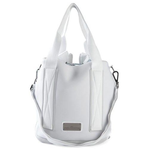 035408dd51 adidas Stella McCartney Tennis Bag White Grey Gunmetal CZ5925