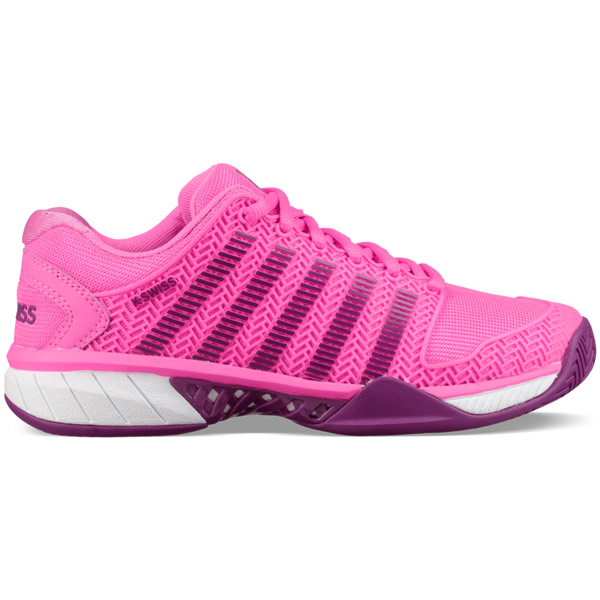 K Swiss Hypercourt Express Women S Tennis Shoe Neon Pink