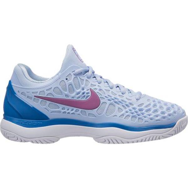 52205ac94b078 Nike Zoom Cage 3 Women's Tennis Shoe Royal/Purple 918199-450