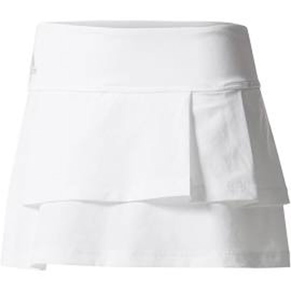 3ffc83491b adidas Women's Core Advantage Layered Skirt White BR6839 - The ...