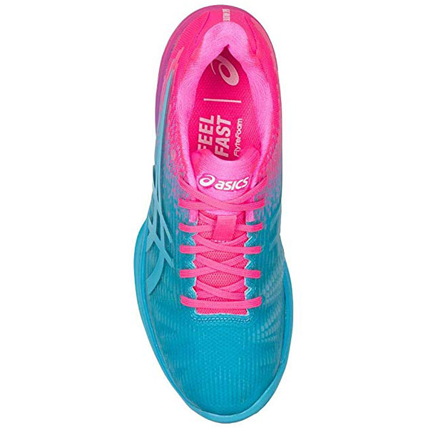 Convertire gemello mensile  Asics Solution Speed FF Limited Edition Tennis Shoe Aqua/Pink - The Tennis  Shop