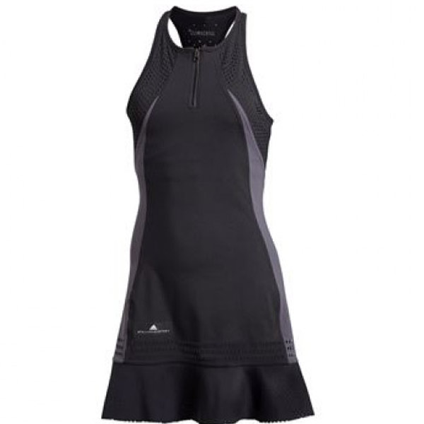 d5fe6671497 adidas Stella McCartney Climachill Dress Black CG2369 - The Tennis Shop