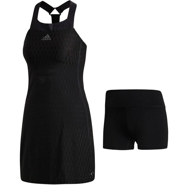 7dbc96a374f adidas Women's Barricade Dress Black CY2256 - The Tennis Shop
