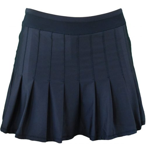 fd6a51e7df80 Lucky in Love Women s Ultraviolet Long Retro Pleated Skirt Midnight  CB287-401