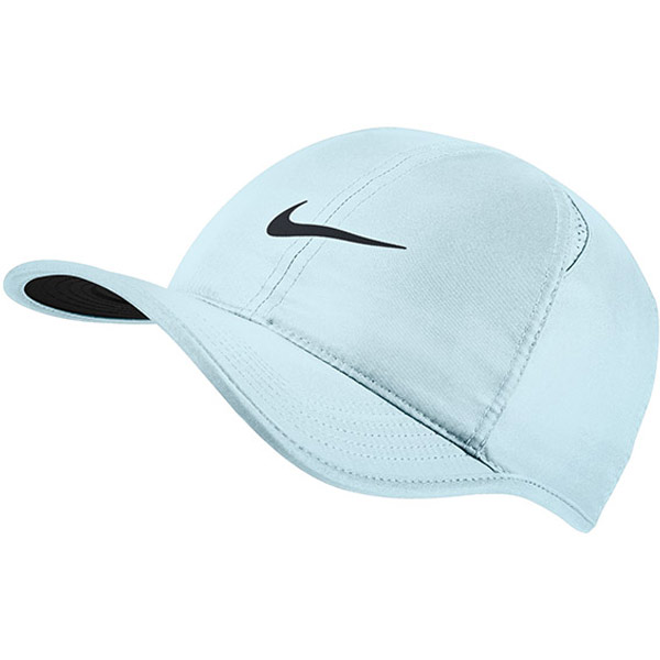 f0c3d7335d9 Nike Feather Light Hat Light Blue 679421-411 - The Tennis Shop