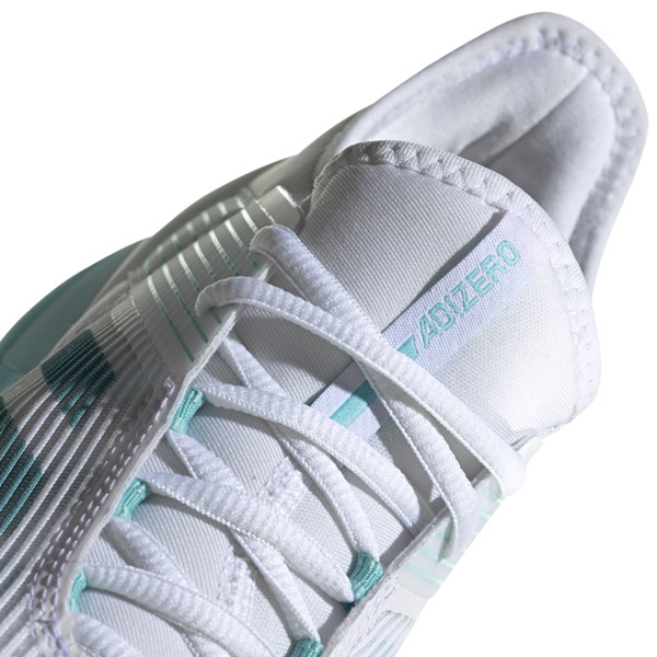 half off b246d 2ee74 adidas Adizero Ubersonic 3 Parley Womens Tennis Shoe Blue Spirit CG6443.   