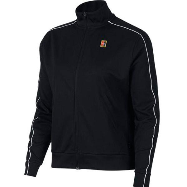 Nike Women S Court Warm Up Jacket Black Av2451 010 The