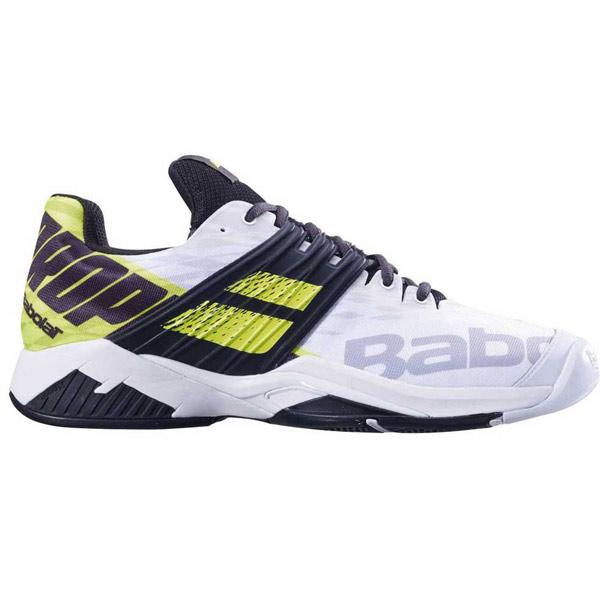 Babolat Propulse Fury All Court Men s Tennis Shoe White Fluo Aero  30S19208-1021 155806e08cc