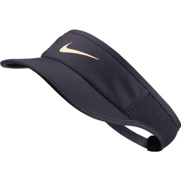 d242548c Nike Women's Court Aerobill Featherlight Visor Gridiron 899656-081. ; 