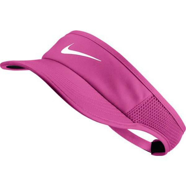 594b3ffa Nike Women's Court Aerobill Featherlight Visor Active Fuchsia 899656-623.  Sale! ; 