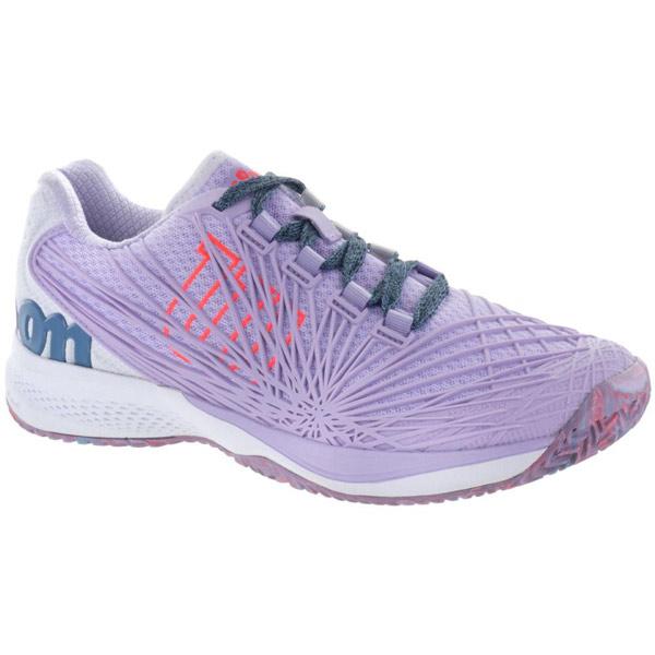 074514e8dfb0 Wilson KAOS 2.0 Women s Tennis Shoe Lilac White Orange WRS323850