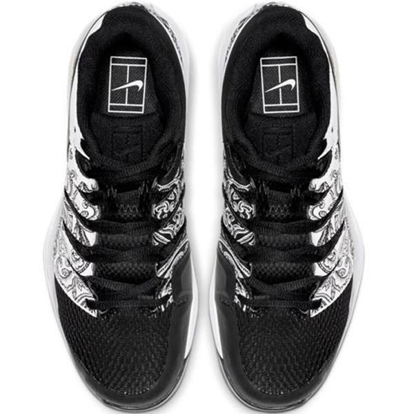 Nike Air Zoom Vapor X Women's Tennis Shoe WhiteBlack AA8027 103