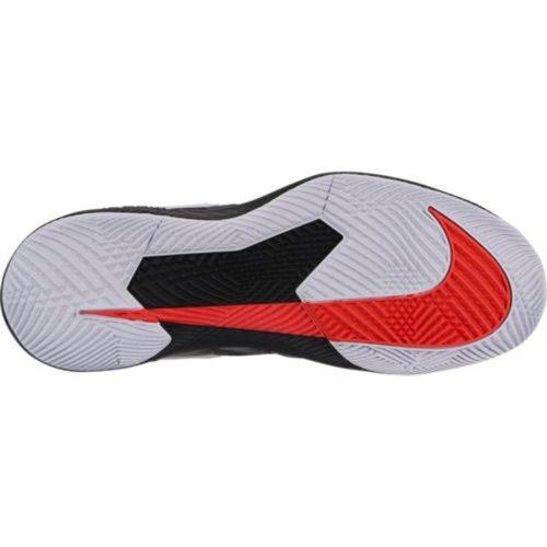265e7c2d19fbc Nike Air Zoom Vapor X Men s Tennis Shoe Black Bright Crimson AA8030-016