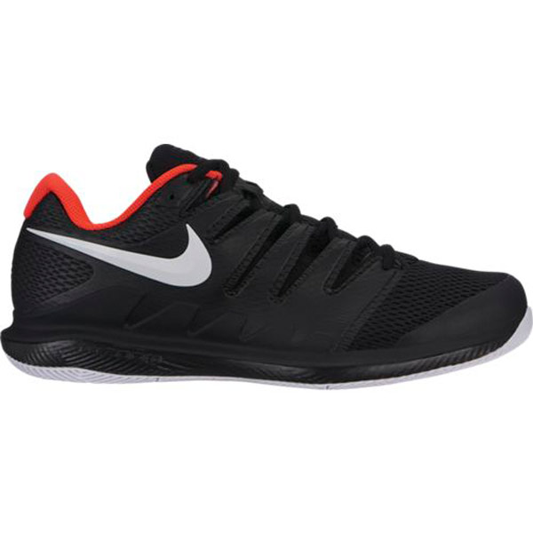 6db673351a25 Nike Air Zoom Vapor X Men s Tennis Shoe Black Bright Crimson AA8030-016.    