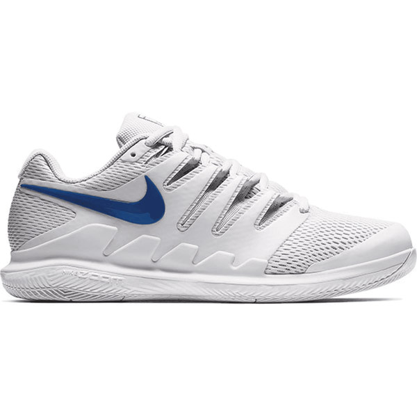 Nike Air Zoom Vapor X Men's Tennis Shoe Vast Grey/Indigo AA8030-044