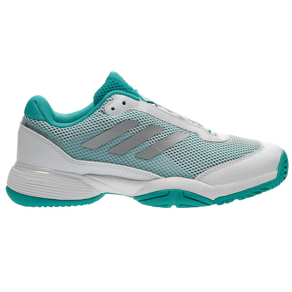 Adidas Barricade Club XJ Junior Tennis Shoe Aqua BB7934