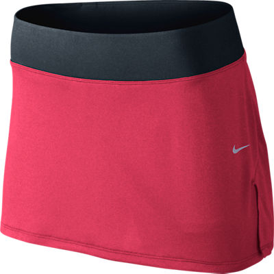 2808cc47e Nike Women's Pleated Knit Skirt Pink Force 541085-665 - The Tennis Shop