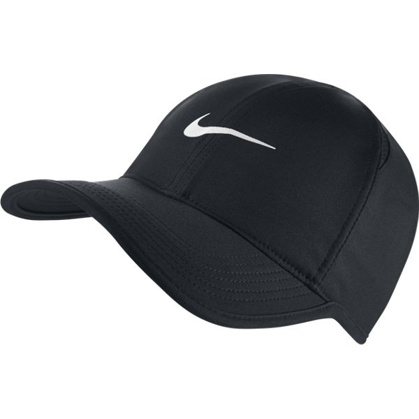 Nike Feather Light Hat Black 679421-010 - The Tennis Shop
