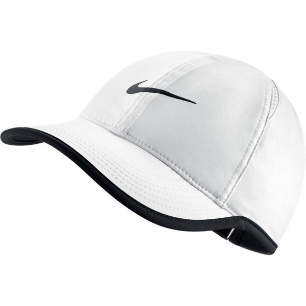 nike s feather light hat white 679424 100 the