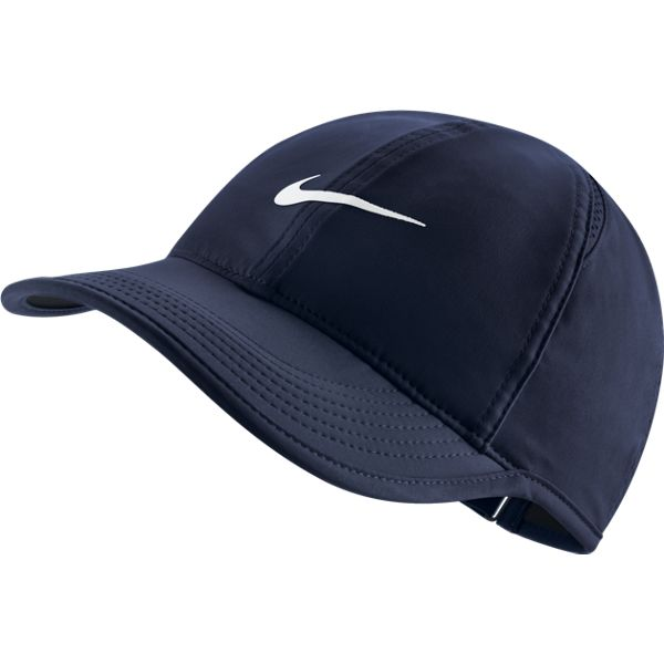 698274c66c8 Nike Women s Feather Light Hat Obsidian 679424-451 - The Tennis Shop