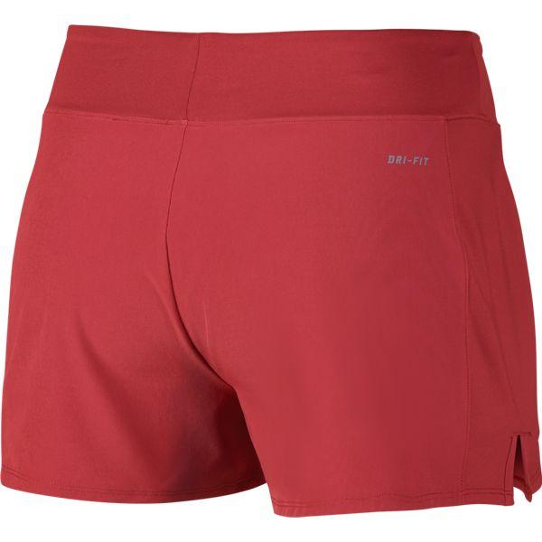 2b65d0c7 Nike Women's Baseline Short Lite Crimson 728785-671 - The Tennis Shop