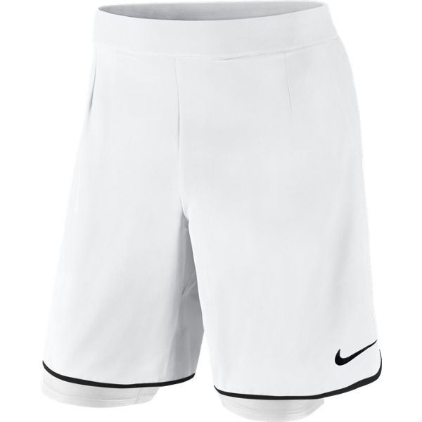 Nike Men's Gladiator 2-In-1 Short White/Black 746655-100. Sale! ; 