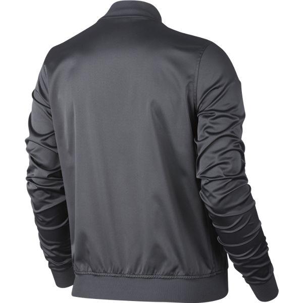30ebb70ab96a Nike Women s Premier Maria Jacket Dark Grey 822200-021 - The Tennis Shop