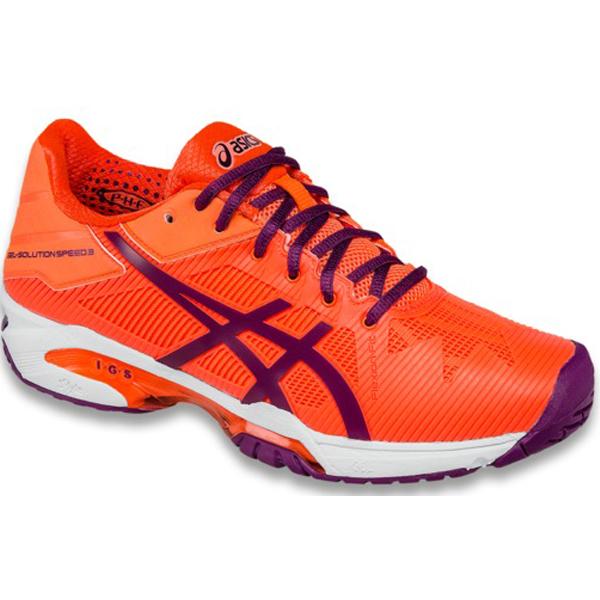 Chaussure de tennis Asics Gel Solution de Speed 3 Solution pour femmes femmes Flash Coral/ Plum cadf275 - hotpornvideos.website