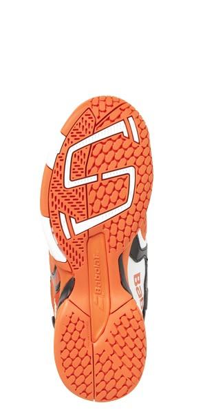 Babolat Propulse 4 Junior Tennis Shoes Orange/Black - The Tennis Shop