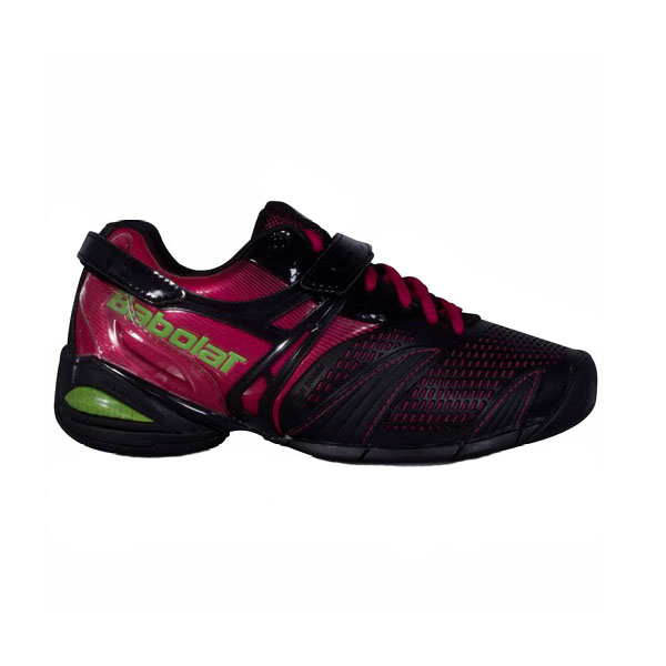 Babolat Tennis Shoes >> Babolat Women S Propulse Lady 3 Tennis Shoes Black Pink The Tennis